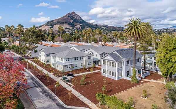 The Academy Palomar wins 2020 Mutilfamily Executive (MFE), Student Category – Cottage-Style Student Housing Brings Wealth of Amenities to San Luis Obispo, Calif.