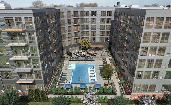 GMH New Innovative Apartment Community With Smart Units in University City